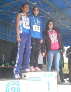 podium minimes filles